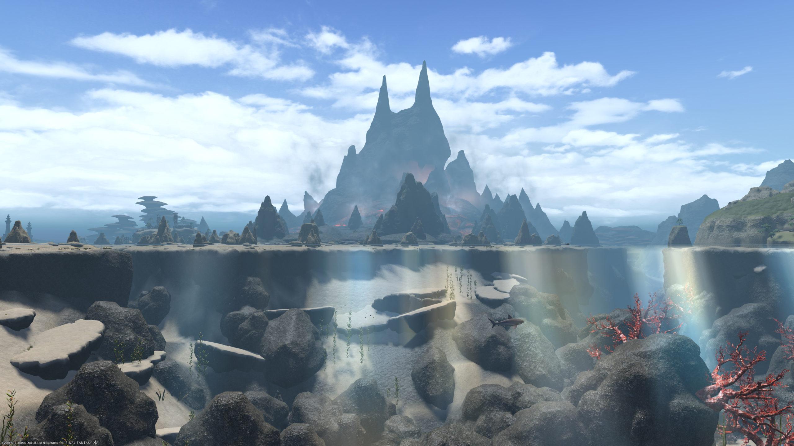 水面消しの撮影イメージ